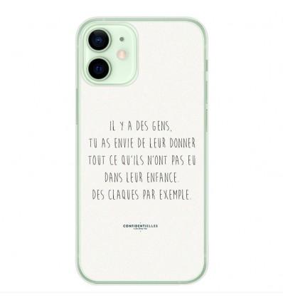 Coque en silicone Apple iPhone 12 Mini - Citation 01