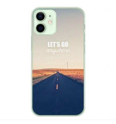Coque en silicone Apple iPhone 12 Mini - Citation 03