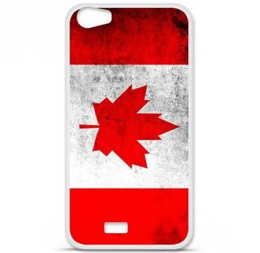 Coque en silicone pour Wiko Lenny 2 - Drapeau Canada