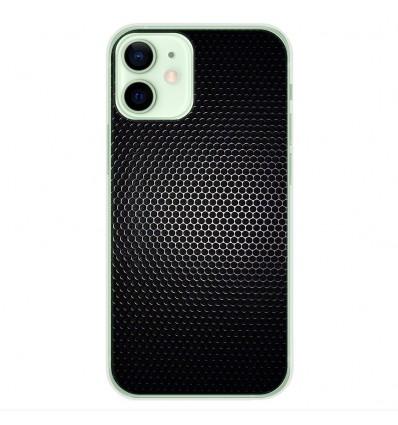 Coque en silicone Apple iPhone 12 Mini - Dark Metal
