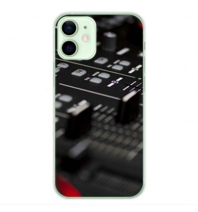 Coque en silicone Apple iPhone 12 Mini - Dj Mixer