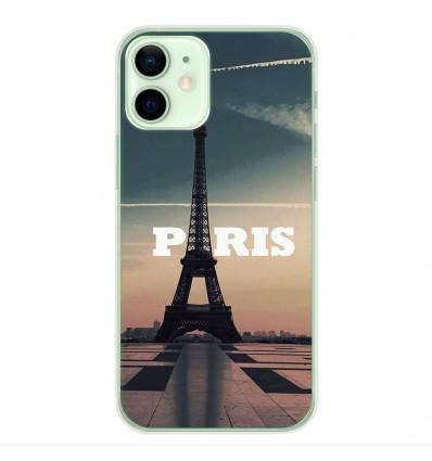 Coque en silicone Apple iPhone 12 Mini - Paris