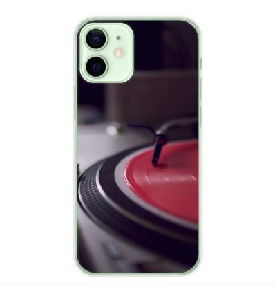 Coque en silicone Apple iPhone 12 Mini - Platine