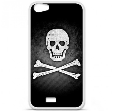 Coque en silicone pour Wiko Lenny 2 - Drapeau Pirate
