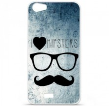 Coque en silicone Wiko Lenny 2 - I Love Hipster