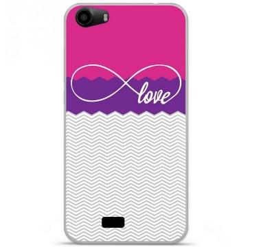 Coque en silicone pour Wiko Lenny 2 - Love Rose