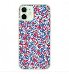 Coque en silicone Apple iPhone 12 Mini - Liberty Wiltshire Bleu