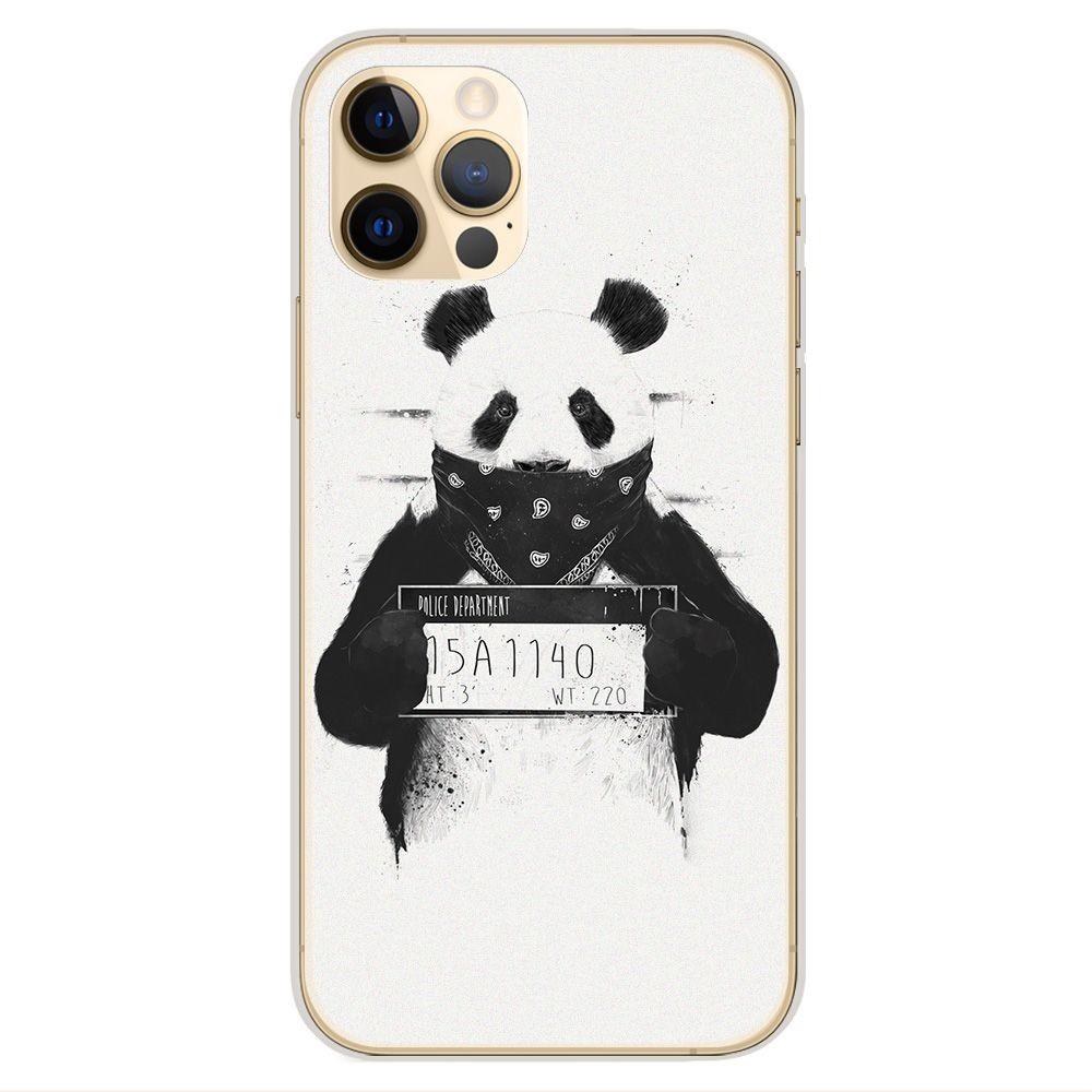 Coque en silicone Apple iPhone 12 Pro - BS Bad Panda