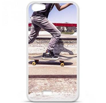 Coque en silicone pour Wiko Lenny 2 - Skate