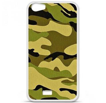 Coque en silicone Wiko Lenny 2 - Camouflage