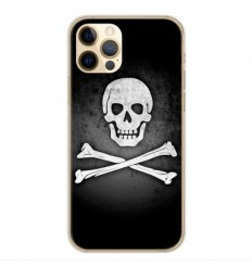 Coque en silicone Apple iPhone 12 Pro - Drapeau Pirate