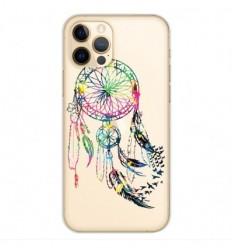 Coque en silicone Apple iPhone 12 Pro - Dreamcatcher Gris