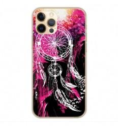 Coque en silicone Apple iPhone 12 Pro - Dreamcatcher Rose