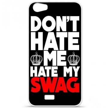 Coque en silicone pour Wiko Lenny 2 - Swag Hate