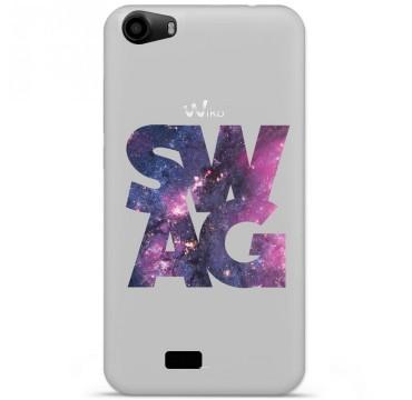 Coque en silicone pour Wiko Lenny 2 - Swag Space