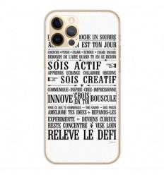 Coque en silicone Apple iPhone 12 Pro - Citation 11