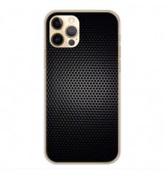 Coque en silicone Apple iPhone 12 Pro - Dark Metal