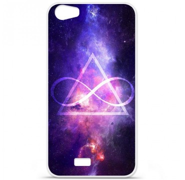 Coque en silicone Wiko Lenny 2 - Infinite Triangle