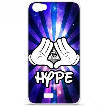 Coque en silicone pour Wiko Lenny 2 - Hype Illuminati