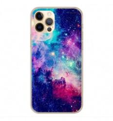 Coque en silicone Apple iPhone 12 Pro - Galaxie Bleue