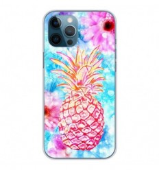 Coque en silicone Apple iPhone 12 Pro Max - Ananas