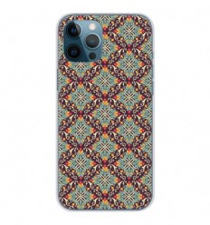 Coque en silicone Apple iPhone 12 Pro Max - Arabesque