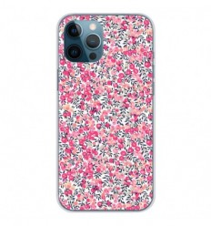 Coque en silicone Apple iPhone 12 Pro Max - Liberty Wiltshire Rose