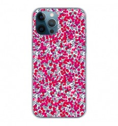 Coque en silicone Apple iPhone 12 Pro Max - Liberty Wiltshire Rouge