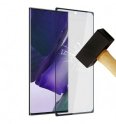 Film verre trempé 4D - Samsung Galaxy Note 20 Noir protection écran