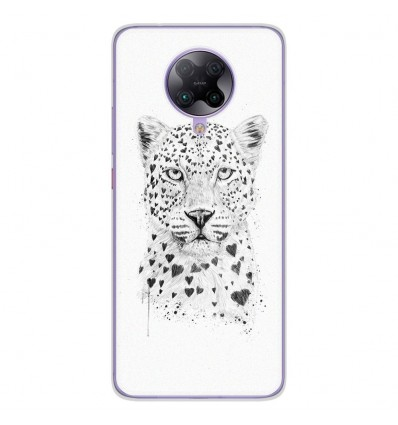 Coque en silicone Oppo Poco F2 Pro - BS Love leopard