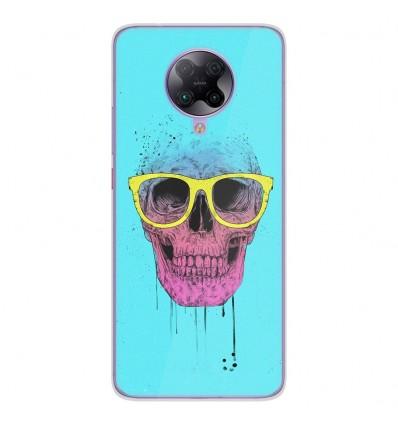 Coque en silicone Oppo Poco F2 Pro - BS Skull glasses