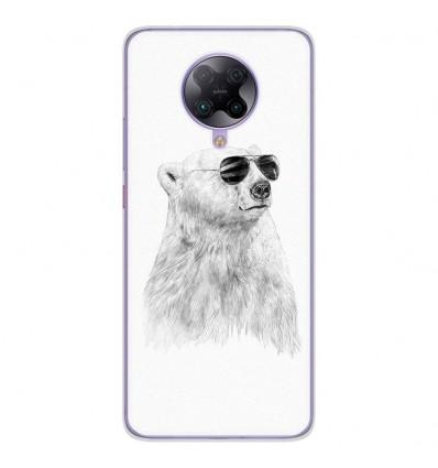 Coque en silicone Oppo Poco F2 Pro - BS Sunny bear
