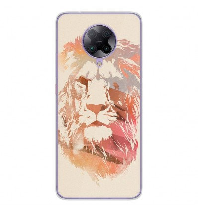 Coque en silicone Oppo Poco F2 Pro - RF Desert Lion