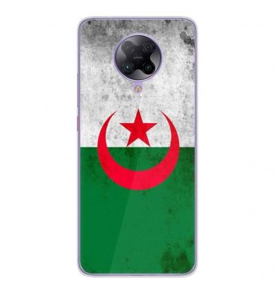 Coque en silicone Oppo Poco F2 Pro - Drapeau Algérie