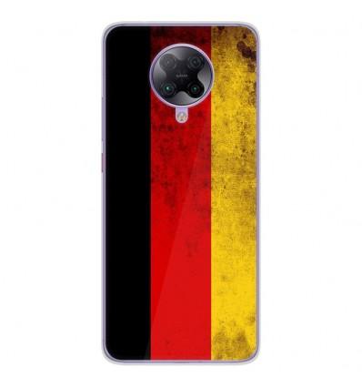 Coque en silicone Oppo Poco F2 Pro - Drapeau Allemagne