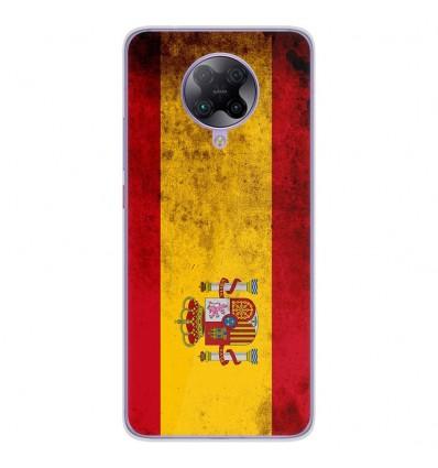 Coque en silicone Oppo Poco F2 Pro - Drapeau Espagne