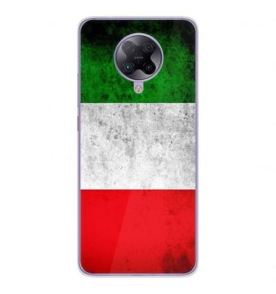 Coque en silicone Oppo Poco F2 Pro - Drapeau Italie