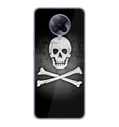 Coque en silicone Oppo Poco F2 Pro - Drapeau Pirate