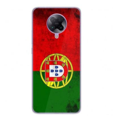 Coque en silicone Oppo Poco F2 Pro - Drapeau Portugal