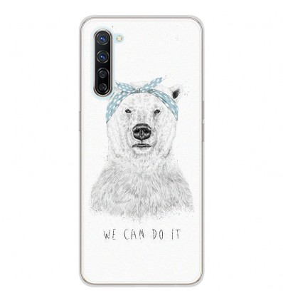 Coque en silicone Oppo Find X2 Lite - BS We can do it