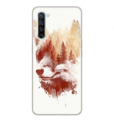 Coque en silicone Oppo Find X2 Lite - RF Blind Fox