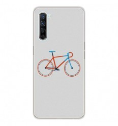 Coque en silicone Oppo Find X2 Lite - Bike color Hipster