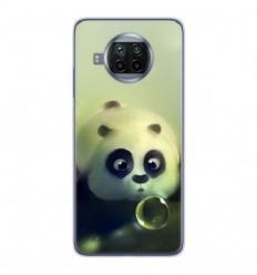 Coque en silicone Xiaomi Mi 10T Lite - Panda Bubble