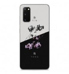 Coque en silicone Samsung Galaxy S20 FE - Yin et Yang