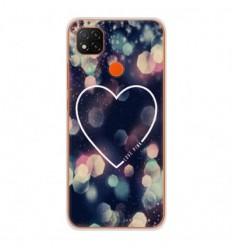 Coque en silicone Xiaomi Redmi 9C - Coeur Love