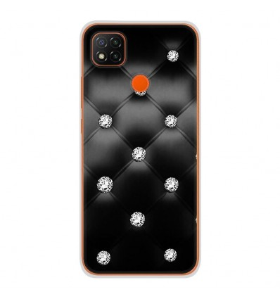 Coque en silicone Xiaomi Redmi 9C - Strass