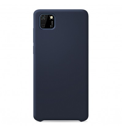 Coque Huawei Y5P Silicone Soft Touch - Bleu nuit