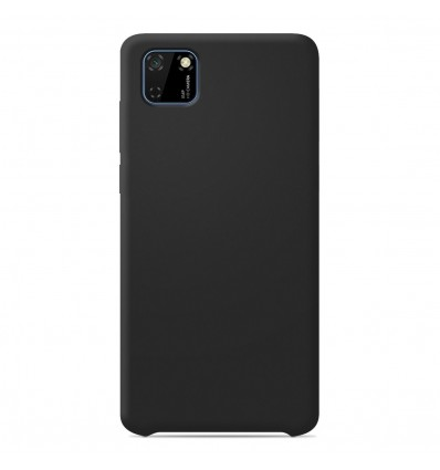 Coque Huawei Y5P Silicone Soft Touch - Noir