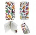 Etui Alcatel One Touch Pop C5 Folio Papillon multicolore