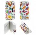 Etui Alcatel One Touch Pop C7 Folio Papillon multicolore